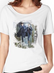 Sherlock: The Game is On! Women's Relaxed Fit T-Shirt