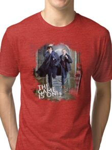 Sherlock: The Game is On! Tri-blend T-Shirt