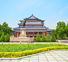 The Sun Yat-Sen Memorial Hall in Guangzhou, China. by kawing921