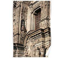 Architecture in La Compania Church Poster
