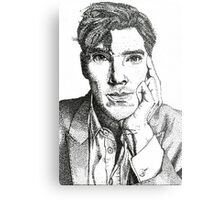 Benedict Cumberbatch - The Man out of Time Metal Print