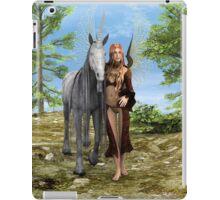 Fairy and Unicorn iPad Case/Skin