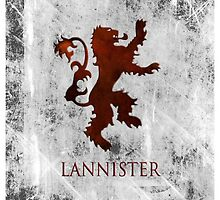 Lannister 02 [Phone Case] by Ilcho Trajkovski