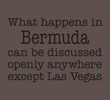 What Happens In Bermuda Kids Clothes