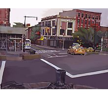 106th street and Broadway city scape Photographic Print