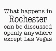 What Happens In Rochester by Location Tees