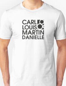 Carl Louis & Martin Danielle (CLMD) - black T-Shirt