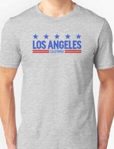 Retro Los Angeles, CA (Blue) T-Shirt