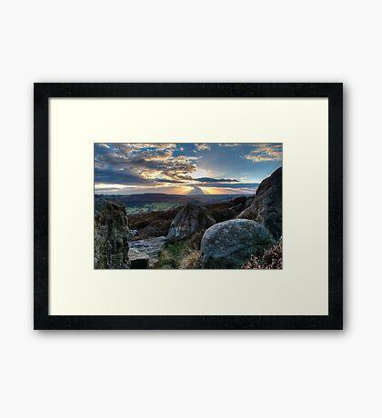 Peak District - Surprise View Framed Print