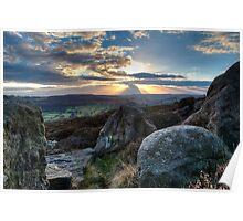 Peak District - Surprise View Poster