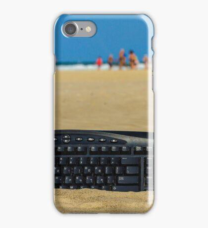 Beach office iPhone Case/Skin