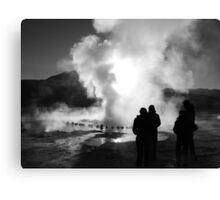 El Tatio at sunrise Canvas Print