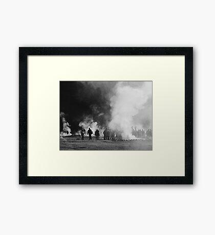 El Tatio Zombies! Framed Print