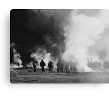 El Tatio Zombies! Canvas Print