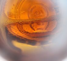 Lighting in a Beer Bottle by ericakristen