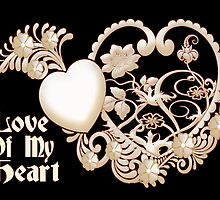 Love of my Heart .. card by LoneAngel
