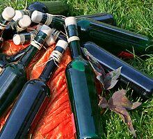 Olive Oil Bottles by Stefanie Köppler