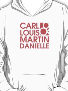 Carl Louis & Martin Danielle (CLMD) - Coral red T-Shirt
