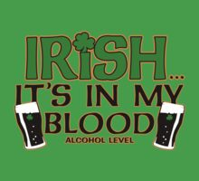 irish its in my blood by mamacu