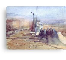 Algeria Tamanrasset Canvas Print