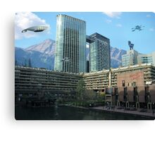 Futuristic City Canvas Print