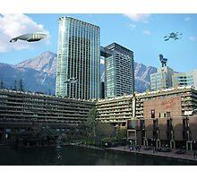 Futuristic City Photographic Print