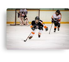 Hockey Shots Canvas Print