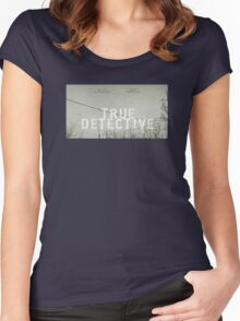 True Detective - T-Shirt Women's Fitted Scoop T-Shirt