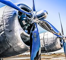 B29 Wright R-3350 Engines by chris-csfotobiz