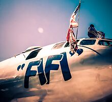 FiFi at sunset by Chris L Smith