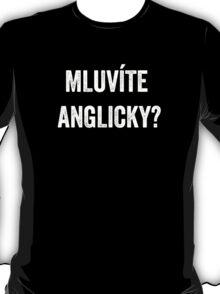 Do you speak English? (Czech) (White) T-Shirt