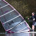 Windsurfing in the floods by LightPhonics