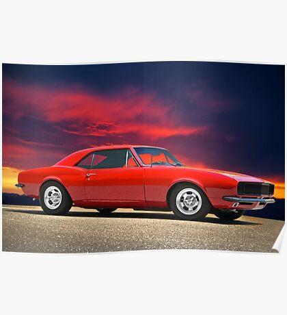 1969 Chevrolet 'Flex'n Muscle' Camaro  Poster