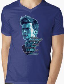 The Man Who Keeps Running - T-shirt Mens V-Neck T-Shirt