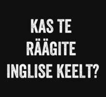 Do you speak English? (Estonian) (White) by EnglishAbroad