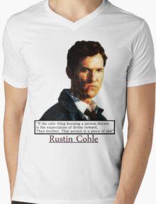 True Detective   Mens V-Neck T-Shirt