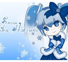 Snow Miku Hatsune by zerojigoku