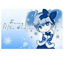 Snow Miku Hatsune Photographic Print