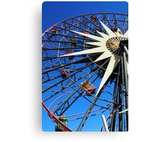Round and round and swing Canvas Print
