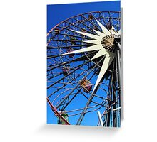 Round and round and swing Greeting Card