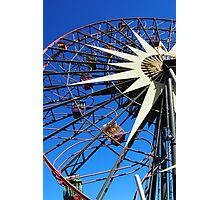 Round and round and swing Photographic Print