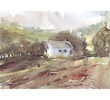 Countryside house on the Camino Photographic Print