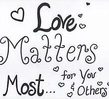 Love Matters Most by byAngeliaJoy