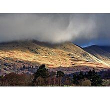 Light Across the Hills Photographic Print
