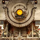 Locomotive 2562 by George Lenz