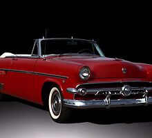 1954 Ford Crestline Convertible by TeeMack