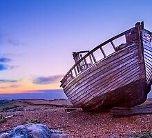 Dungeness Old Abandoned fishing boat and sheds 5 by WillG