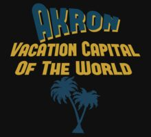 Akron Vacation Capital One Piece - Short Sleeve