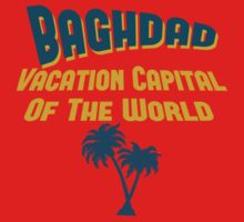 Baghdad Vacation Capital by Location Tees