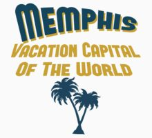 Memphis Vacation Capital Kids Clothes
